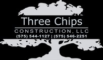 Three Chips Construction Logo